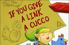 Video Game Picture Books - Caldwell Tanner Parodies Children's Tales with Nintendo Characters