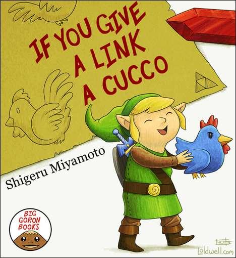 Video Game Picture Books