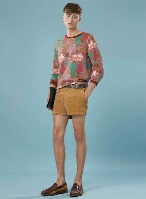70s Hemline Menswear