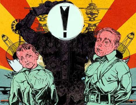Propaganda-Inspired Artwork