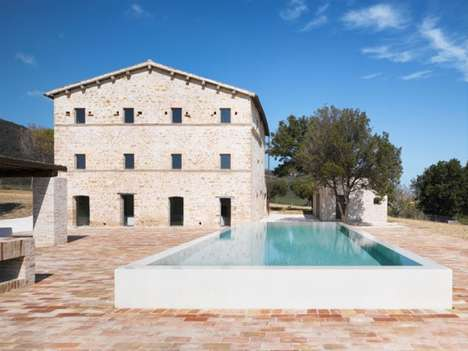 Le Marche Villa by Wespi de Meuron Architekten Makes Living to Die for