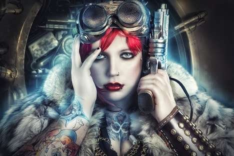 Steampunk Seductress Shoots