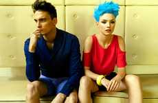 Hair-Raising Couple Captures - The Alejandro Rodriguez Codigo Inico Editorial Features Vibrancy