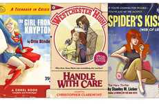 Superhero Teen Lit Parodies - The Pulp Cover Prints by Tony Fleecs Comments on Pop Culture