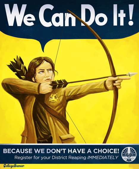 Teen Lit Propaganda Posters