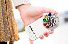 Rainbow Smartphone Camera Cases  - The Holga iPhone Lens Spins The Rainbow Into Your Pictures