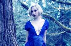 Enchanted Forest Fashion Photos - The 2012 Cotton Candy Punk Couture Shoot is Ethereal