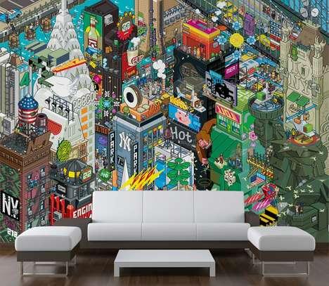 Pixelated Wallpaper Wonders