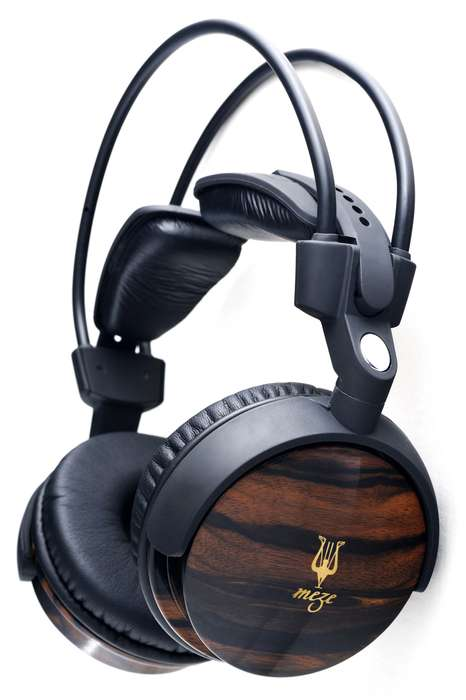 Opulent Ebony Ear Pieces