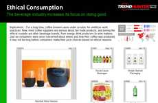 Juice Trend Report - Discover Exciting Innovations in the Food and Beverage Industry