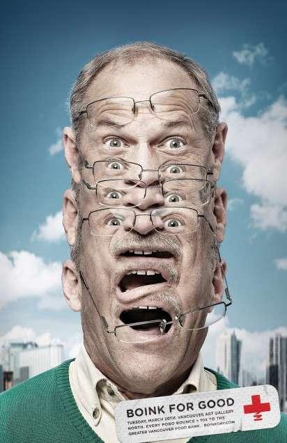 Discombobulated Head Ads