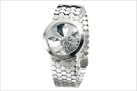 Reflecting Faceted Timepieces