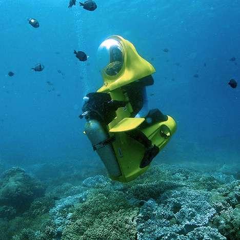 Luxury Personal Submarines