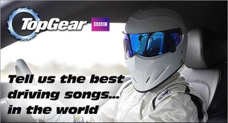 Socially Sourced Driving Music  - Top Gear is Crowdsourcing the Ultimate Car CD