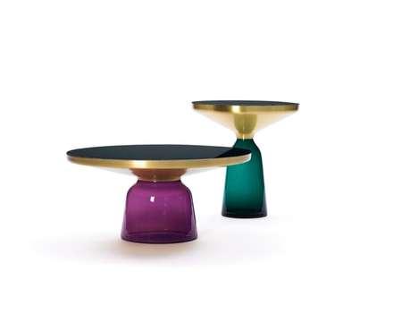 Lustrous Glass Furnishings
