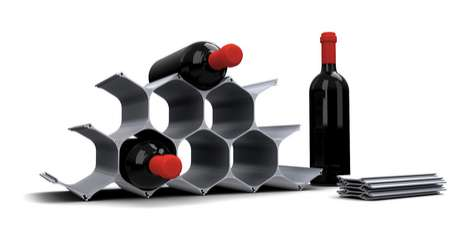 Honeycomb Wine Holders