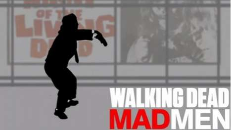 'Walking Dead Mad Men Blends Blends Two Hit TV Shows