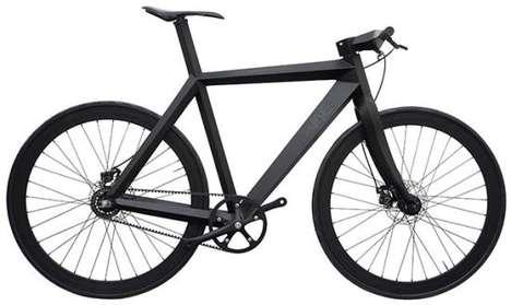 Stealth Black Bicycles