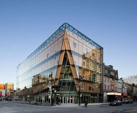 Glass-Encased Buildings