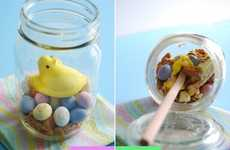 Festive Melted Munchies - These Peeps Deconstructed Smores are Fun to Make and Eat