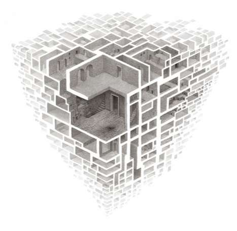 Mind-Bending Maze Drawings