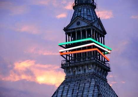 Colorful Celebratory Illuminations