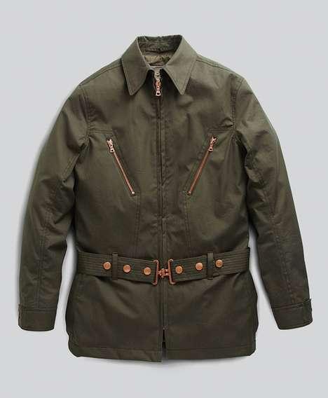 Modernized WWI-Inspired Menswear