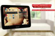 Google-Powered Tablets - Lenovo IdeaTab S2109 Features New Android Operating System