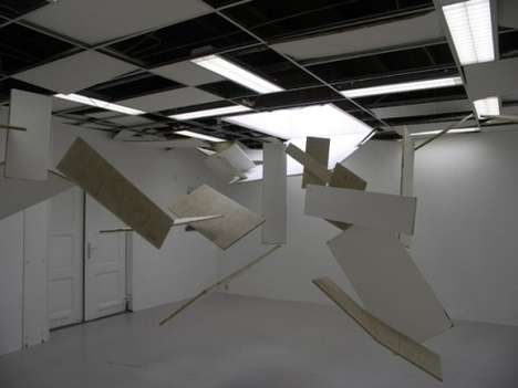 Collapsing Ceiling Installations