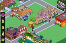 Popular Cartoon Computer Games - The Simpson's: Tapped Out Uses Purchaseable Donuts as Currency