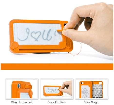 Scribbling Smartphone Holders