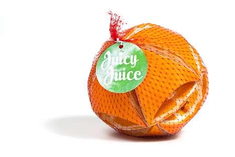 Fake Fruit-Designed Juice Boxes