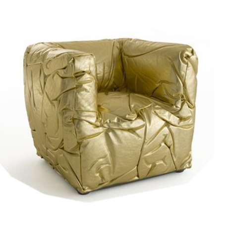Golden Sponge Seating