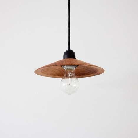 Minimalist Wooden Lighting
