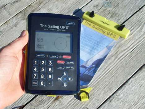 The Sailing GPS Uses Bluetooth Wind Monitoring to Plot Courses