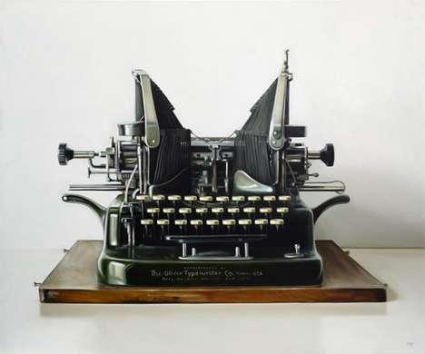 Realistic Typewriter Renderings