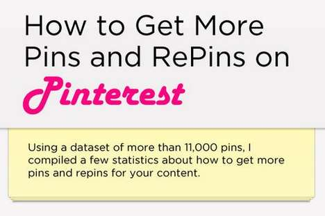 Fame-Hiking Social Media Graphs - 'How to Get More Pins and RePins on Pinterest' Talks Traffic