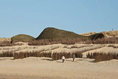 'Sandworm' by Marco Casagrande and C-Lab is a Massive Beach Structure