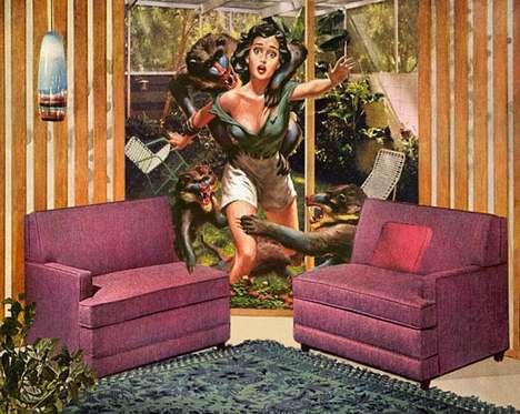 Domestic Damsel Illustrations