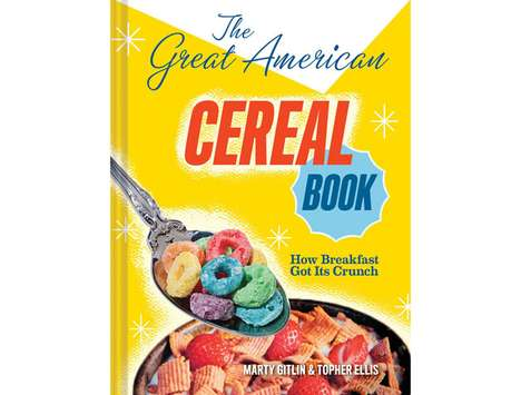 The Great American Cereal Book is Shaped like a Box