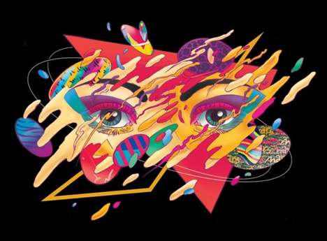 Vibrant Culture-Infused Illustrations
