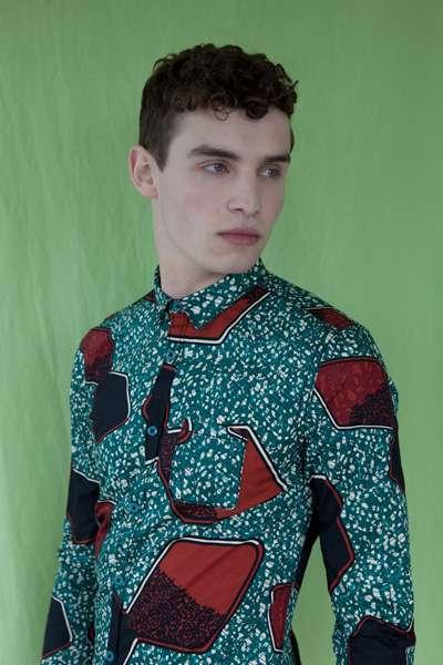 Garishly Patterned Garments