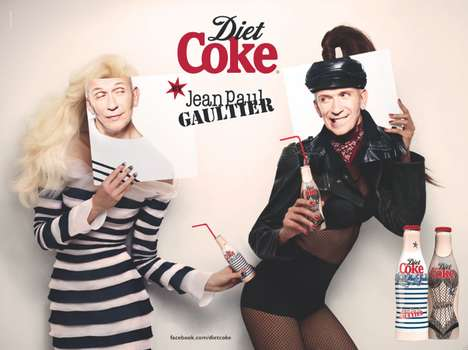 Face-Replaced Pop Ads