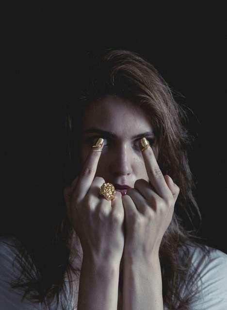 Bejewled Nail Rings (UPDATE)