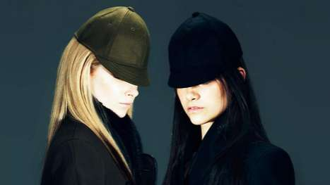 Androgynous Capped Editorials - The Jen Kao FW 2012 Collection Features Chic Looks