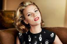 Old Hollywood Glamor Shoots - Scarlett Johansson Stars on the Cover of Vogue US