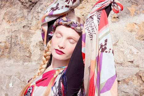 Serene Sleeping Campaigns - The Forget Me Not FW 2012 Collection is Whimsical and Soft