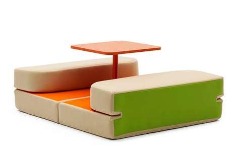 Flexible Folding Furniture