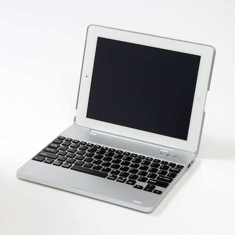 Laptop-Creating Covers - The iPad NoteBookCase Gives You a Mini Macbook Pro in Just Seconds