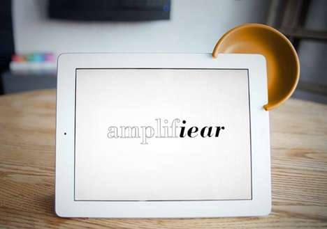 Sound-Boosting iPad Gadgets - The Amplifiear by Nonlinear Studios Simply Boosts the Volume